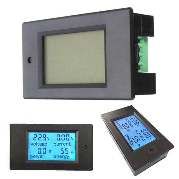 20A Power Monitor Module AC Meter Panel