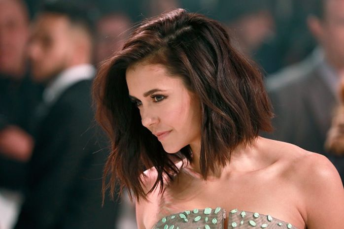 Nina Dobrev Short Hair Getty 6