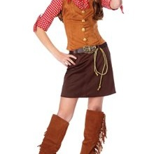 Kids Western Cowgirl Outfit Girls Halloween Costume L Girls Large (12-14)