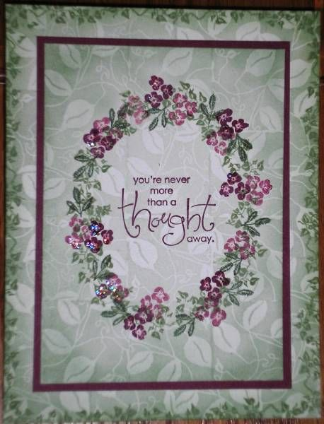 RST Stamped Background by Nan Cee's - Cards and Paper Crafts at Splitcoaststampers