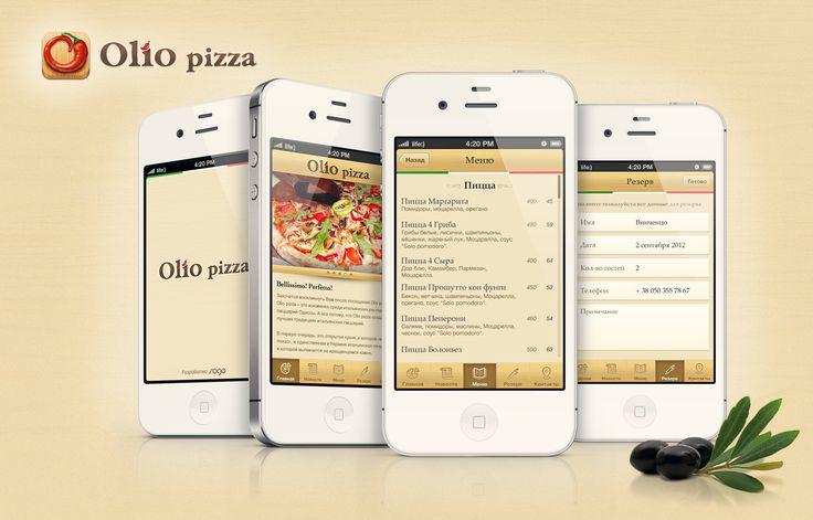 Olio pizza prew