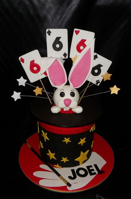Magic Hat / Rabbit Birthday Cake | Flickr - Photo Sharing!