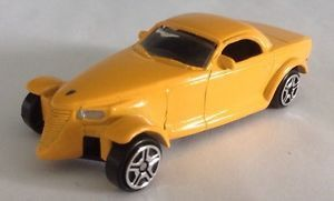 2012 Chrysler Howler Concept Car 1:64 scale Mustard Yellow Recommended for ages 3+