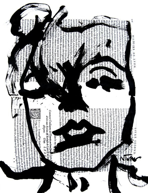"Saatchi Online Artist: Neal Turner; Ink, 2013, Painting ""Marilyn Monroe""Neal Turner, Marilyn Monroe, Saatchi Online, Online Artists, Art Ideas, Painting Marilyn, Art Artists"
