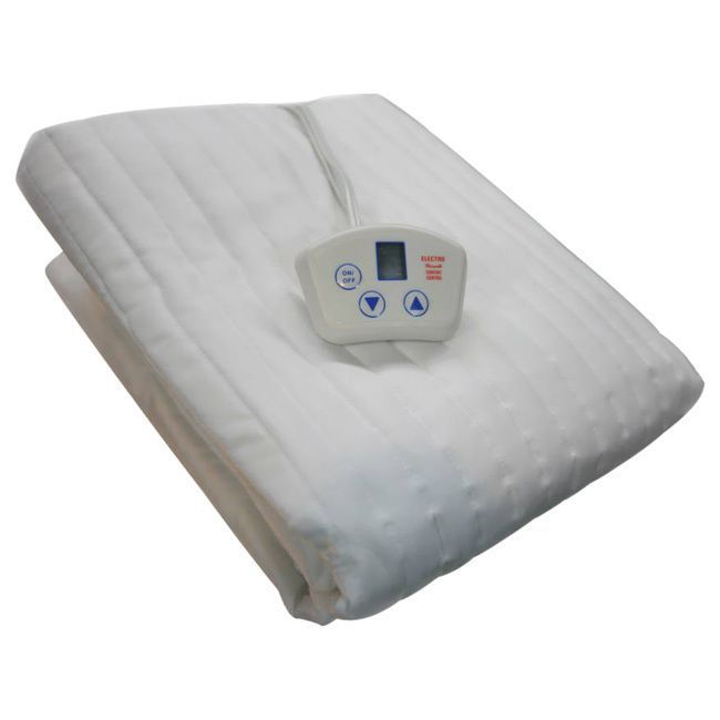 Electrowarmth Massage Table Warmer Heated Mattress Pad (26 x 67), White shell (Polyester)