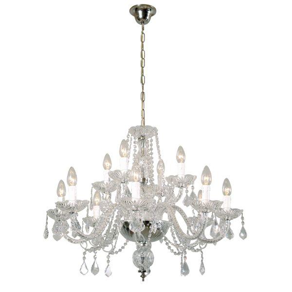 24 best radiant chandeliers images on pinterest crystal radiant jp026 toledo 12 light chandelier with crystal body metal trim aloadofball Image collections