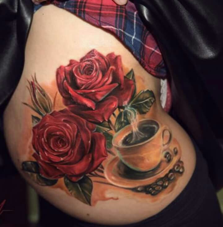282 best tattoo coffee tea and me images on pinterest nice tattoos tattoo ink and tea cup. Black Bedroom Furniture Sets. Home Design Ideas