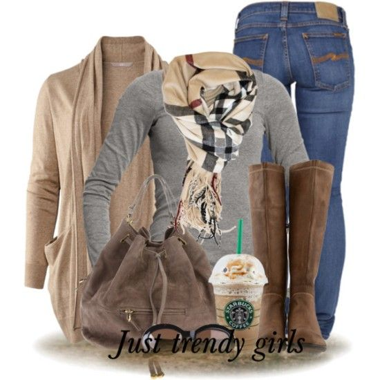 neutral cardigan outfit, Fashion trends and outfit ideas http://www.justtrendygirls.com/fashion-trends-and-outfit-ideas/