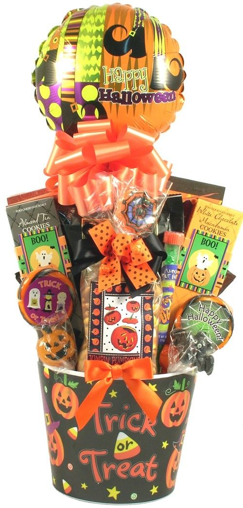 Halloween Sweets and Treats Basket for Kids
