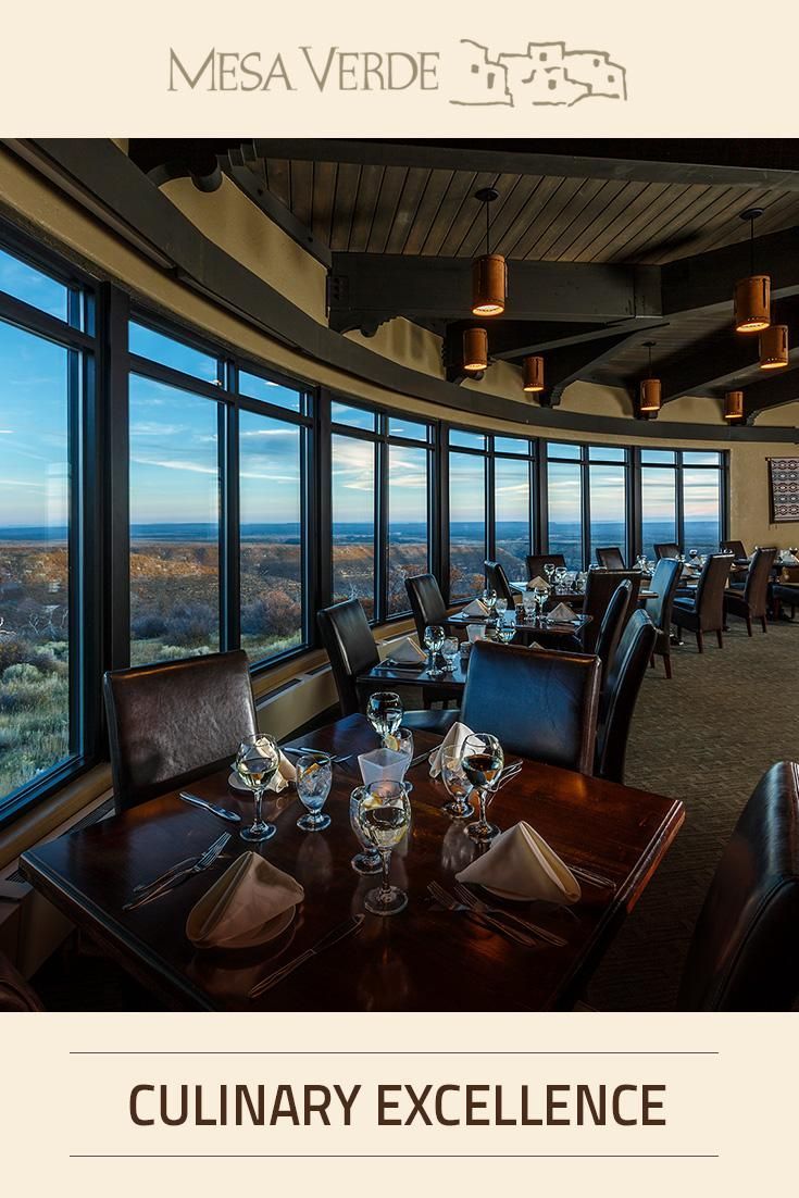 """Metate Room Restaurant, located in Mesa Verde National Park, received """"Award of Culinary Excellence"""" from the American Culinary Federation Colorado Chefs Association in the area of sustainable cuisine."""