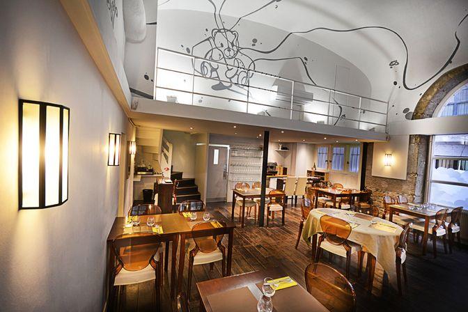 Restaurant L'Ourson qui boit, 23, rue Royale Lyon 69001. Envie : Néobistrot. Les plus : Ouvert le lundi, Antidépresseur.