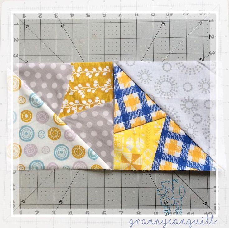 """18 Likes, 2 Comments - Velda Roy (@freckledfoxquiltery) on Instagram: """"#yearofscrappytriangles week 10"""""""