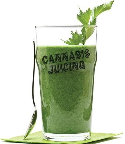 Juicing cannabis for health?