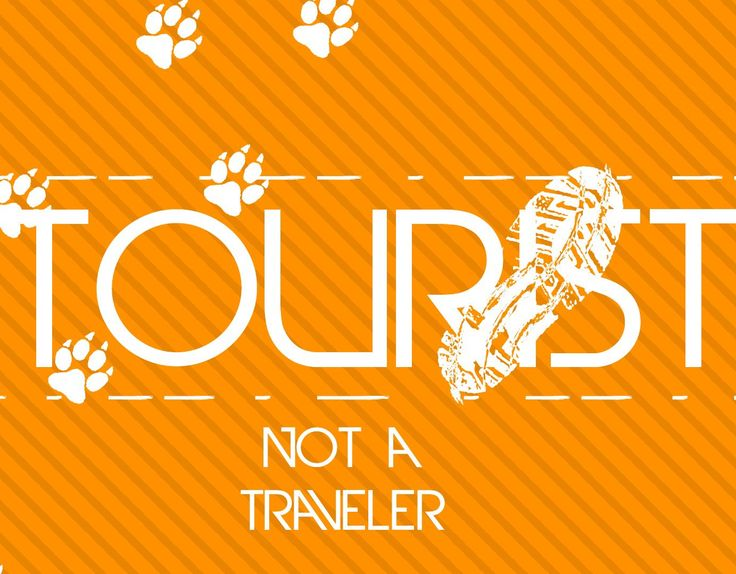 """Check out my @Behance project: """"Be the Tourist Poster""""…"""