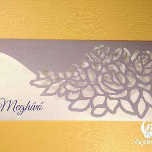 Rose envelope formavágott esküvői meghívó #formavágott #esküvői #meghívó #esküvőimeghívó #cutting #wedding #weddinginvitations #rose #roses #envelope #unique