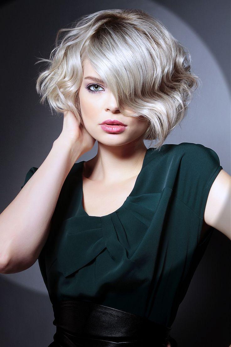 Каре на вьющиеся волосы 2015