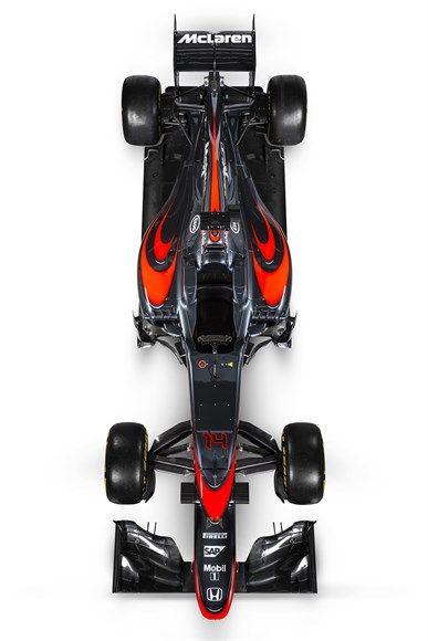 Às vésperas do GP da Espanha, McLaren confirma rumores e apresenta nova pintura com tons de cinza grafite para MP4-30 / Grande Prêmio