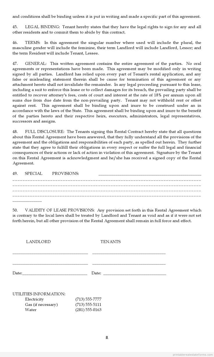 17 Best images about Get Free Real Estate Forms – Editable Lease Agreement Template