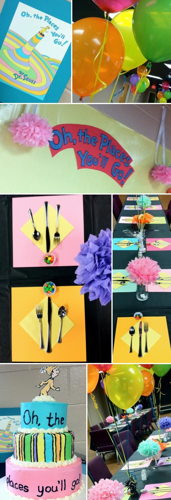 oh the places you'll go decorations for party | Oh, the Places You'll Go! Themed Grad Party! | Whitney Turner Event ...