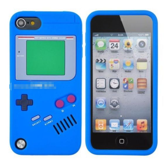 IPOD TOUCH 6 Cute Cases GAME BOY SOFT SILICONE RUBBER CASE COVER FOR IPOD TOUCH…