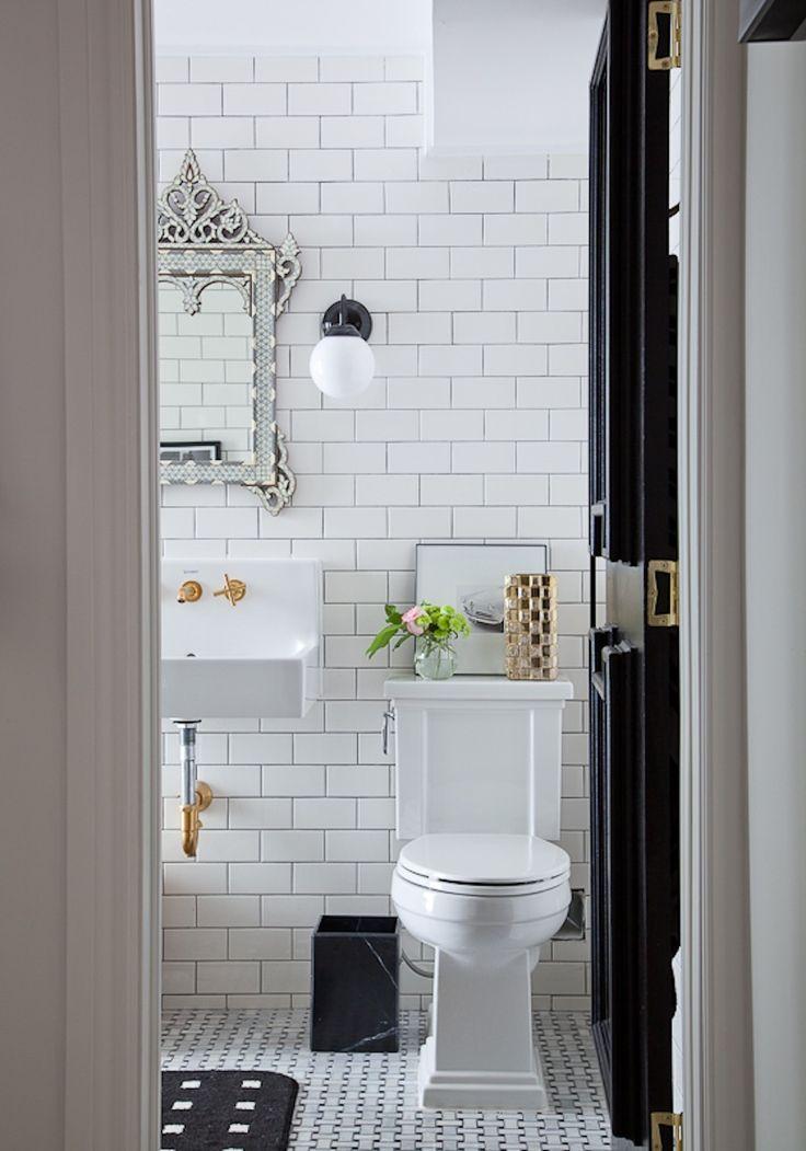 26 best bathroom subway tile images on pinterest for Best bathrooms ever