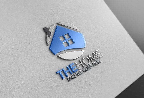 Homes Logo by Josuf Media on @Graphicsauthor