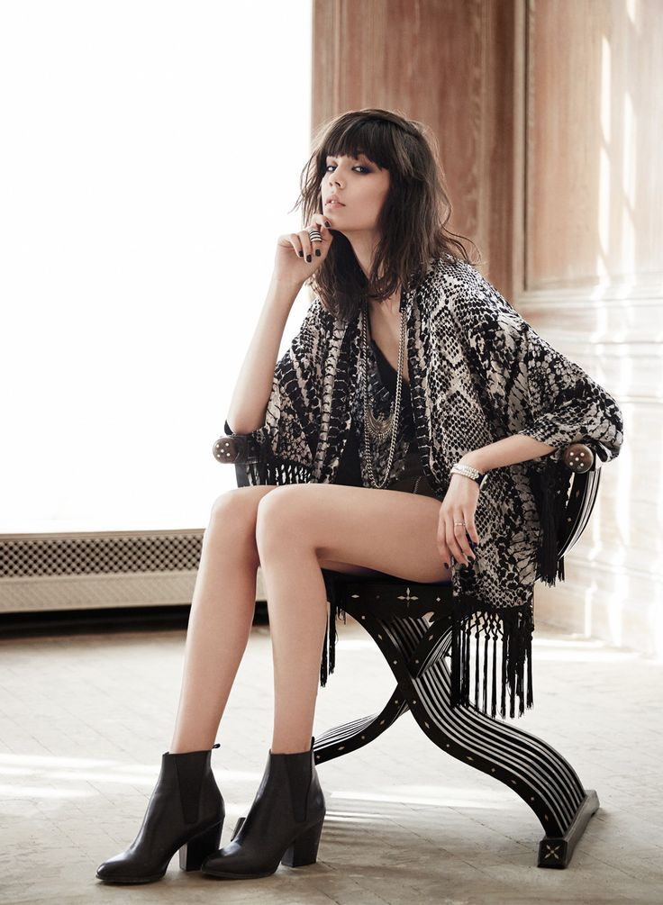 Lookbook The Kooples Spring-Summer 2015 #kimono #print