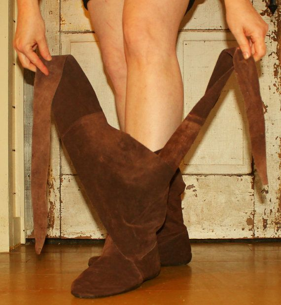 Sewing Boots PatternAmazing MEDIEVAL WRAP BOOTSthe by OnWillowLane