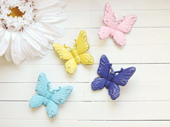 Butterfly Wall Hanging / Garden Decor / Home Decor by WillowsGrace, $10.00