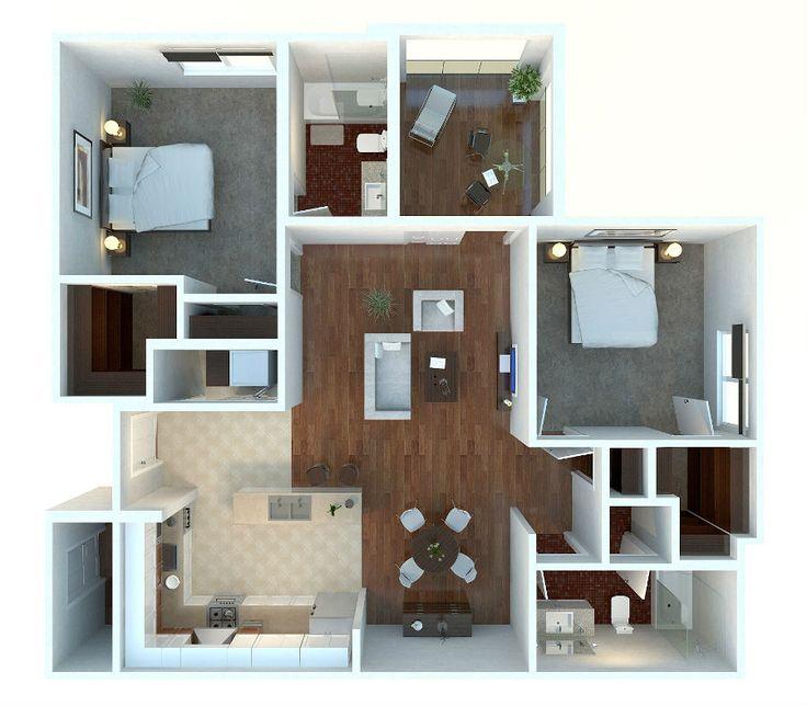 37 Best 3D Floor Plans For Sims Images On Pinterest