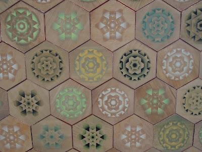 Wooden tiles from Milan - via Ferm Living