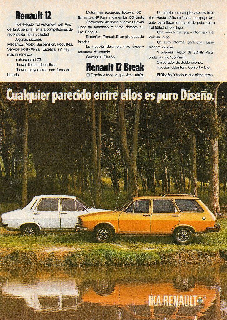 1973 Renault 12 Argentina Car Car Collection Auto