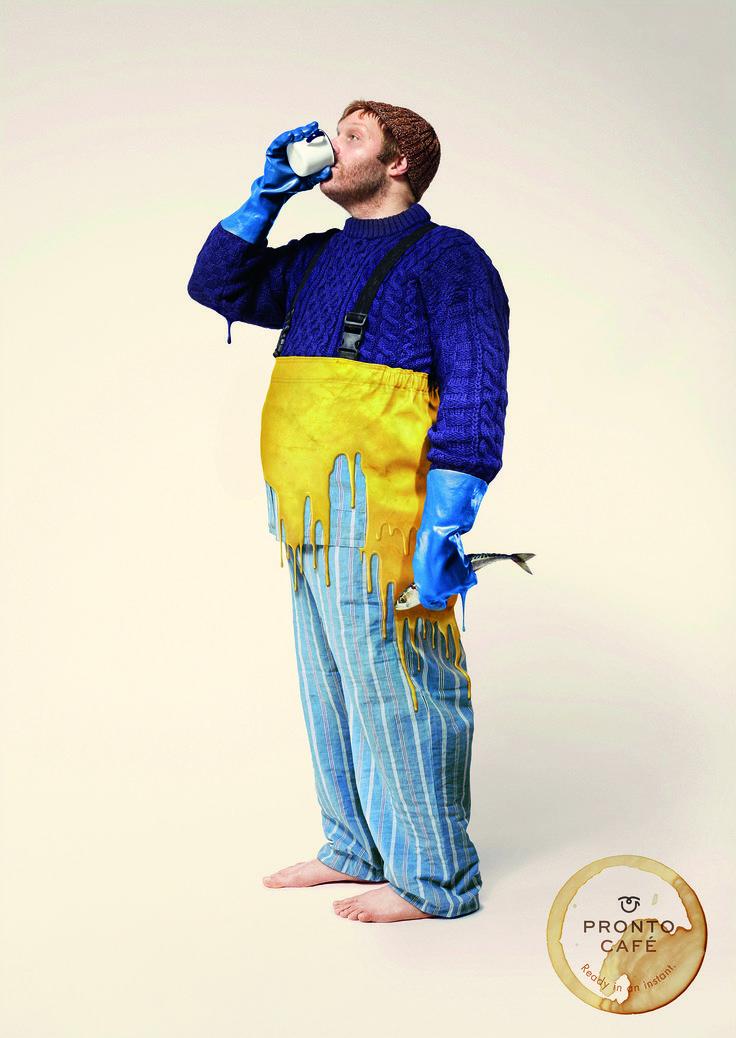 Pronto Cafe: Fisherman   Ads of the World™