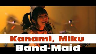 "Kanami Miku: Band-Maid - new track Choose me and new World Tour 2017   ""Welcome Home Master Ando Princess"" BAND-MAID Is All Girl Rock Band From Japan. Will be released on July 19 2017 from major 2nd single of the double A-side ""Daydreaming / Choose me"" of ""Choose me"" Music video arrives !! 3Rd Single ""Daydreaming / Choose me"" limited Edition (CD  DVD) CRCP-10376  2037  tax Regular Edition (CD) CRCP-10377  1111  tax [contents] CD  first time limited Edition - limited Edition common 01…"