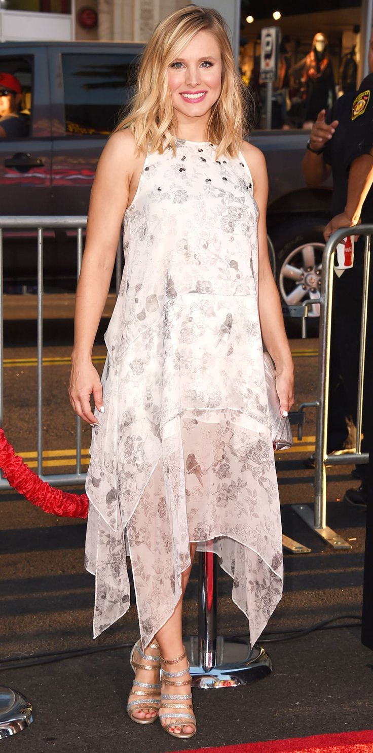 15 of Birthday Girl Kristen Bell's Smokin' Hot Red Carpet Moments - At theThis Is Where I Leave Youpremiere from InStyle.com