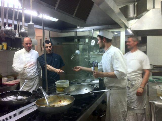 Pasqua 2014 in cucina con Michele, Marco, Marco e Boris