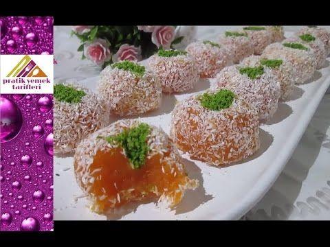 Havuçlu Lokum Tarifi- Pratik Yemek Tarifleri - YouTube