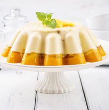Ανάλαφρο και δροσερό γλυκό με γιούρτι και ζελέ για τις καυτές μέρες του καλοκαιριού