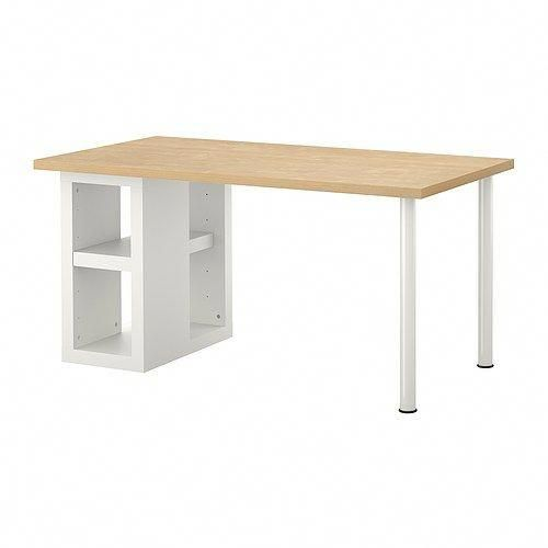 open table for desks shelving to hang on walls instead of hutch rh pinterest com