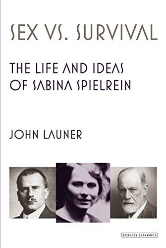 Sex Versus Survival: The Life and Ideas of Sabina Spielrein by John Launer RC440.82.S66 L38 2015