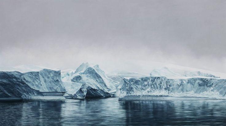| Deception Island Antartica by Zaria Forman