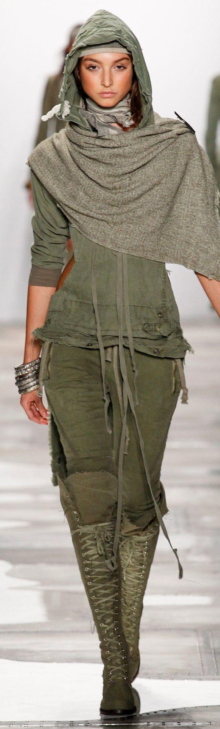 Greg Lauren Spring 2016 Ready-to-Wear                                                                                                                                                      More