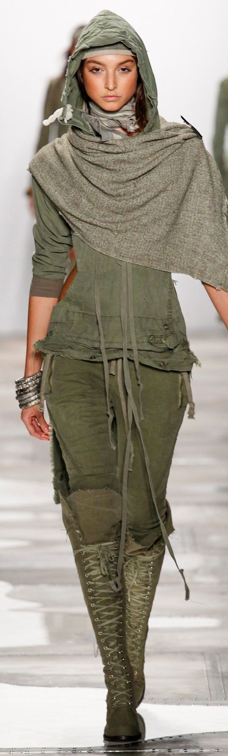 Greg Lauren Spring 2016 Ready-to-Wear