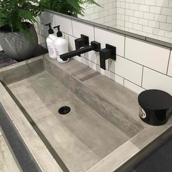 If there was such a thing as #basingoals this would be at the top! Featuring stunning matte black tapware from Meir Australia we absolutely love it. Don't forget to enter our competition to win a black kitchen mixer from Meir - head to our Facebook page for details. Hurry comp ends tonight! #theblockshop #9theblock #theblock #basingoals #bathroom