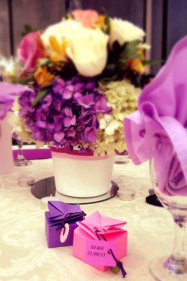 Centro de mesa - boda