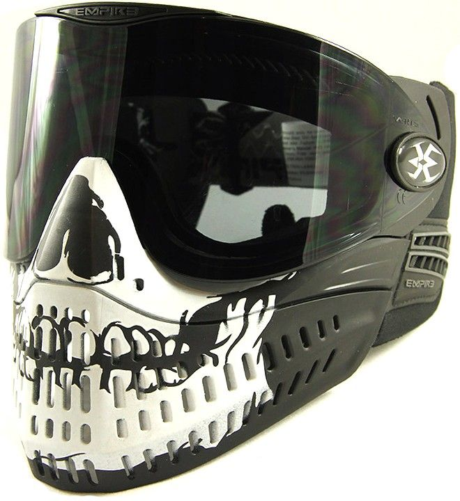 Empire E-Flex LE Goggle - Skull | Paintball Gear Canada