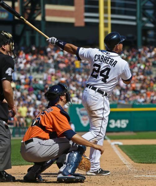 Detroit Tigers third baseman Miguel Cabrera