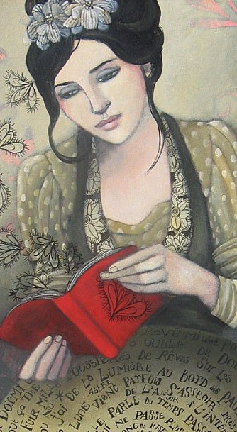 Delphine Cossais (French, b. 1972.)   http://delphinecossais.typepad.fr/blog/