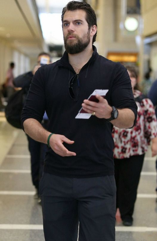 Henry Cavill Leaves LAX with brother Charlie Cavill on their  way back to London via HenryCavillWorld