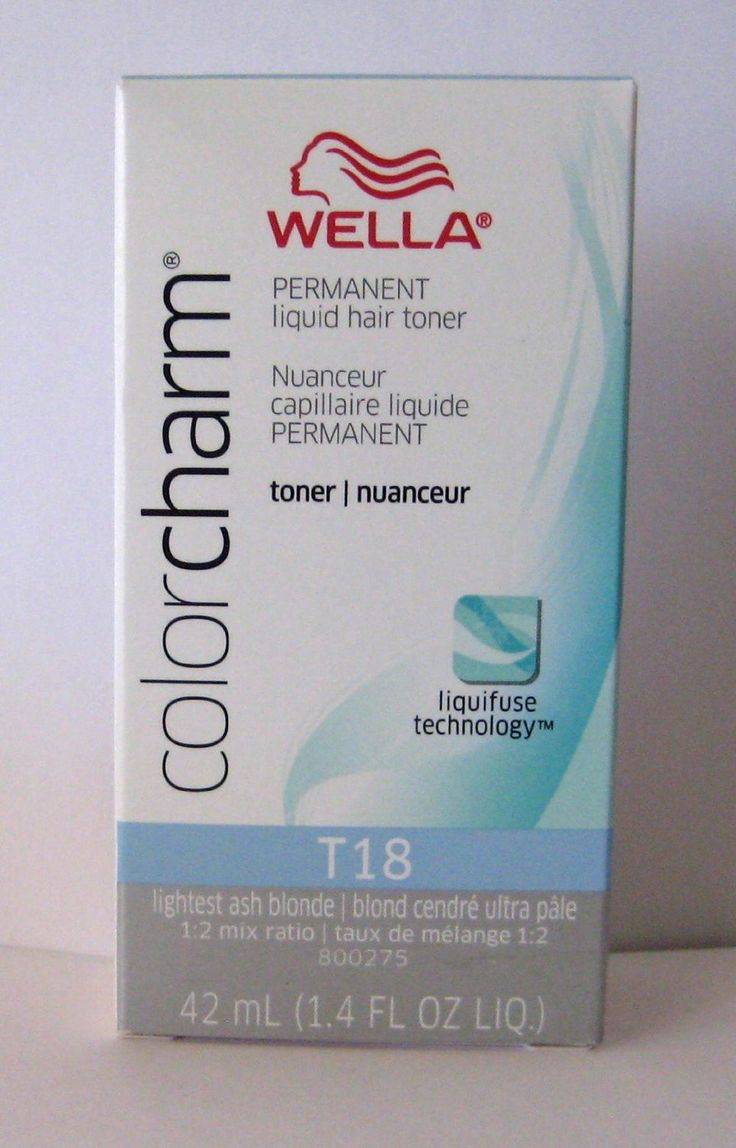 Wella Color Charm T18 White Lady 1 4oz Never Used